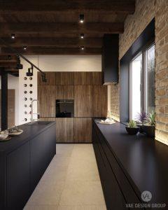 rustik-virtuve